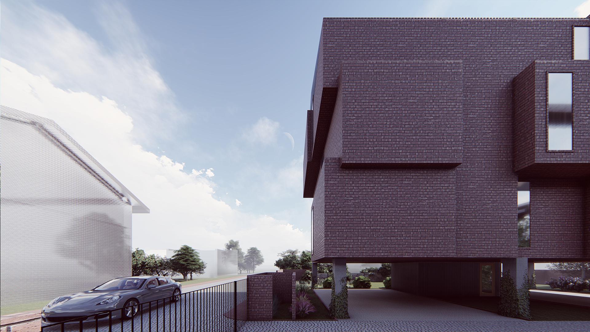 Brick House - wizualizacja 2