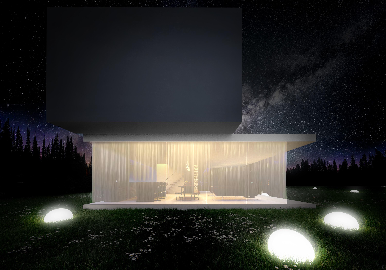 Horizontal House - wizualizacja 4