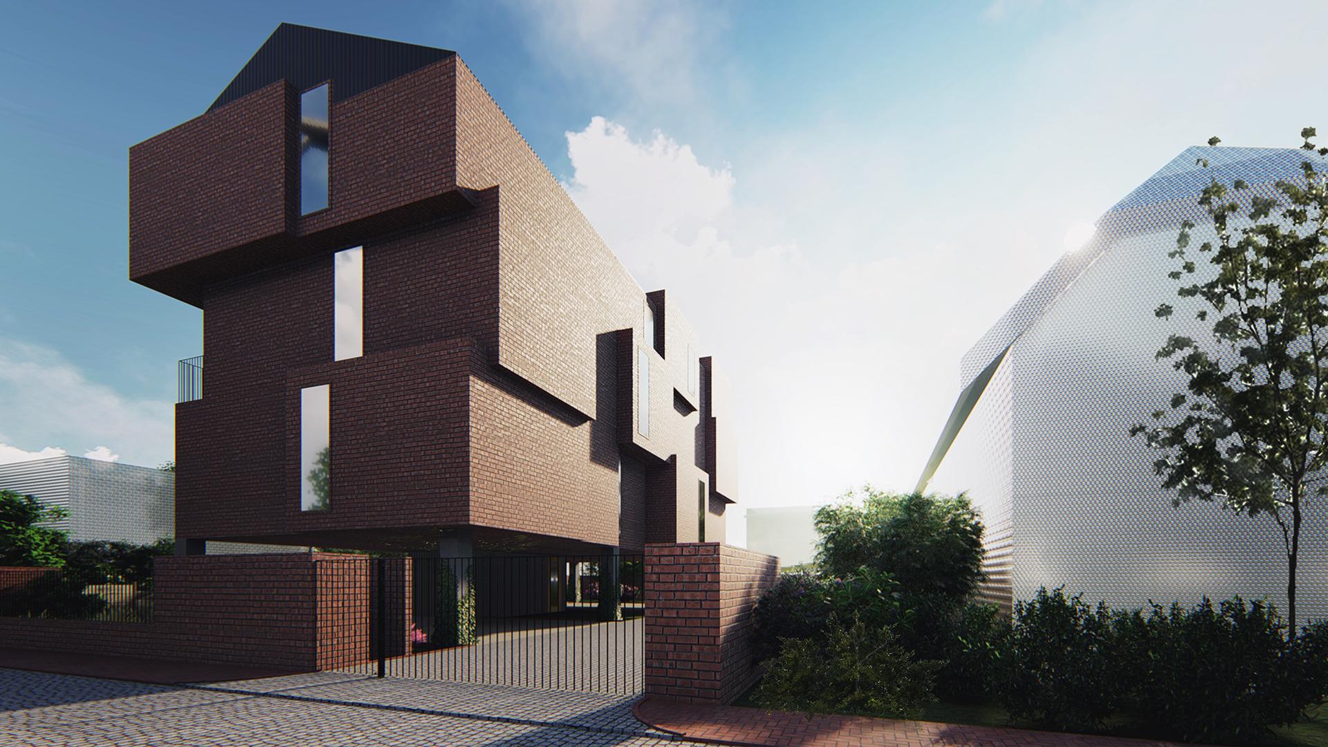 Brick House - wizualizacja 3