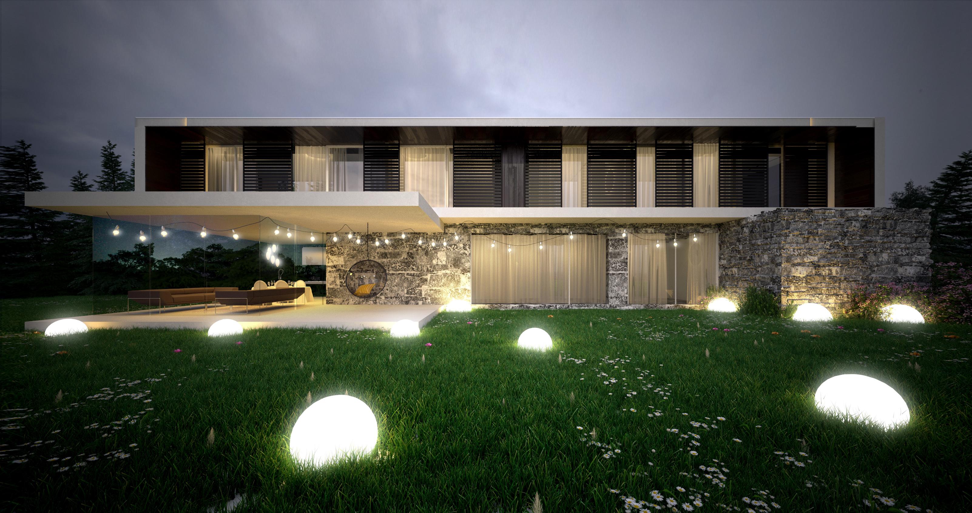 Horizontal House - wizualizacja 5