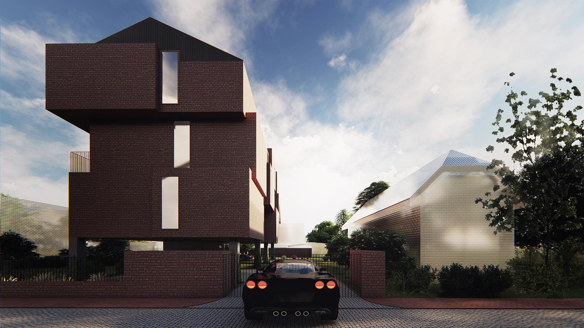 Brick House - wizualizacja 4