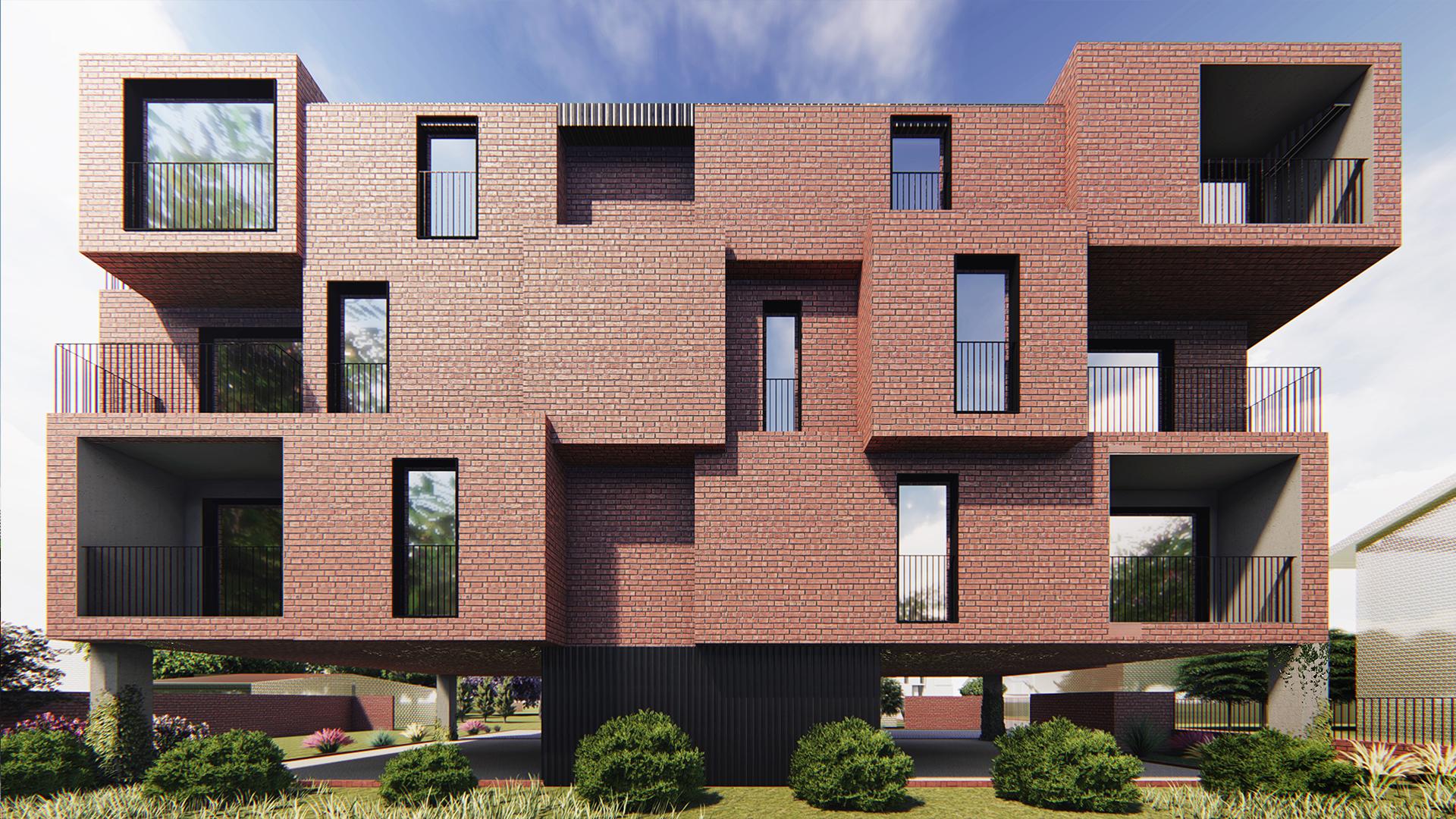 Brick House - wizualizacja 5