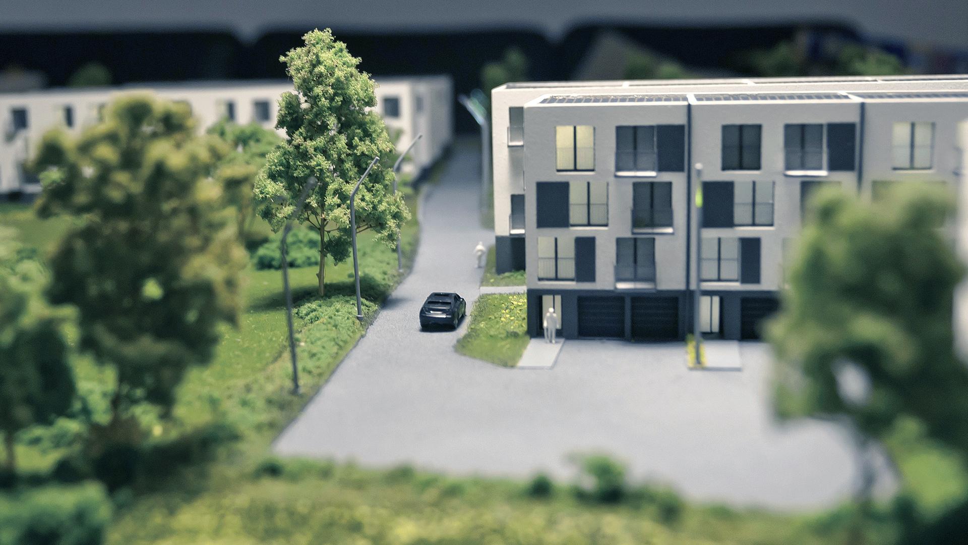 Osiedle Jagielnia - model - widok 5