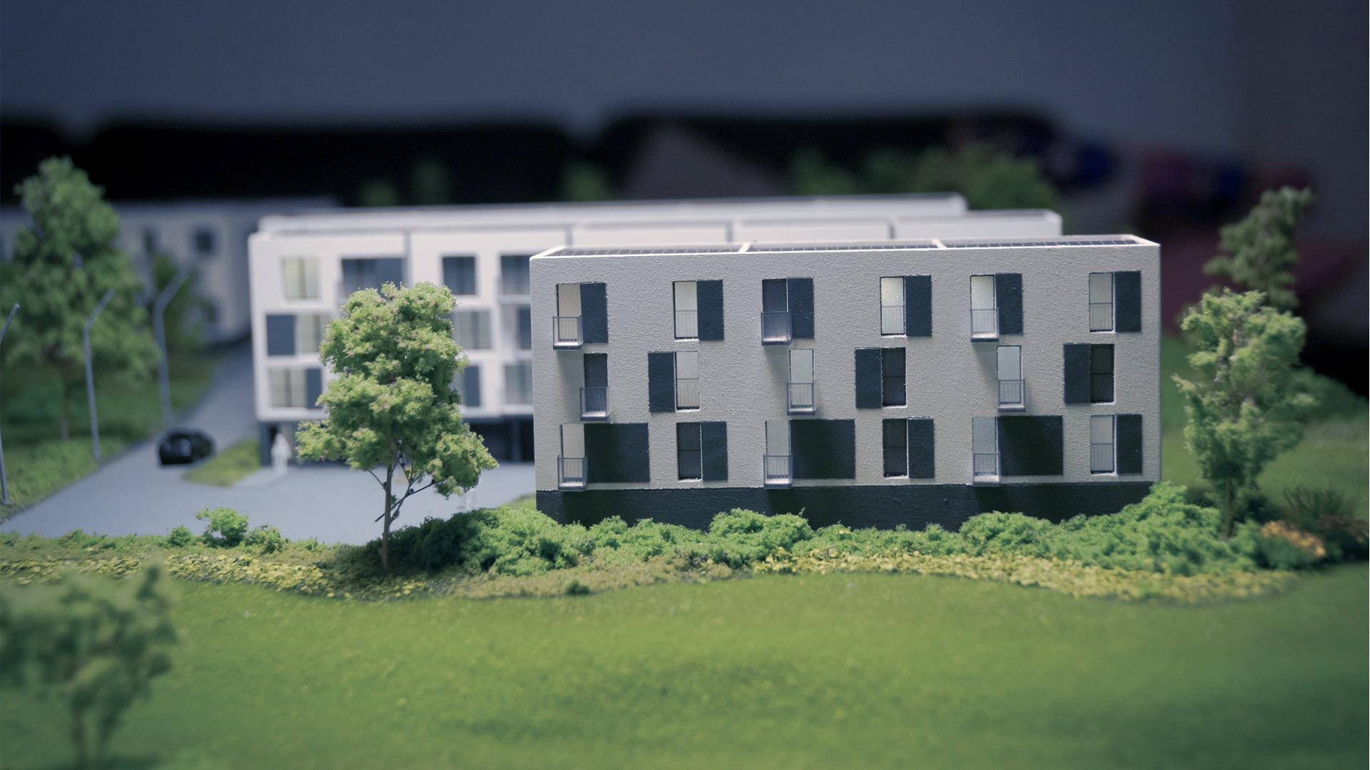 Osiedle Jagielnia - model - widok 6