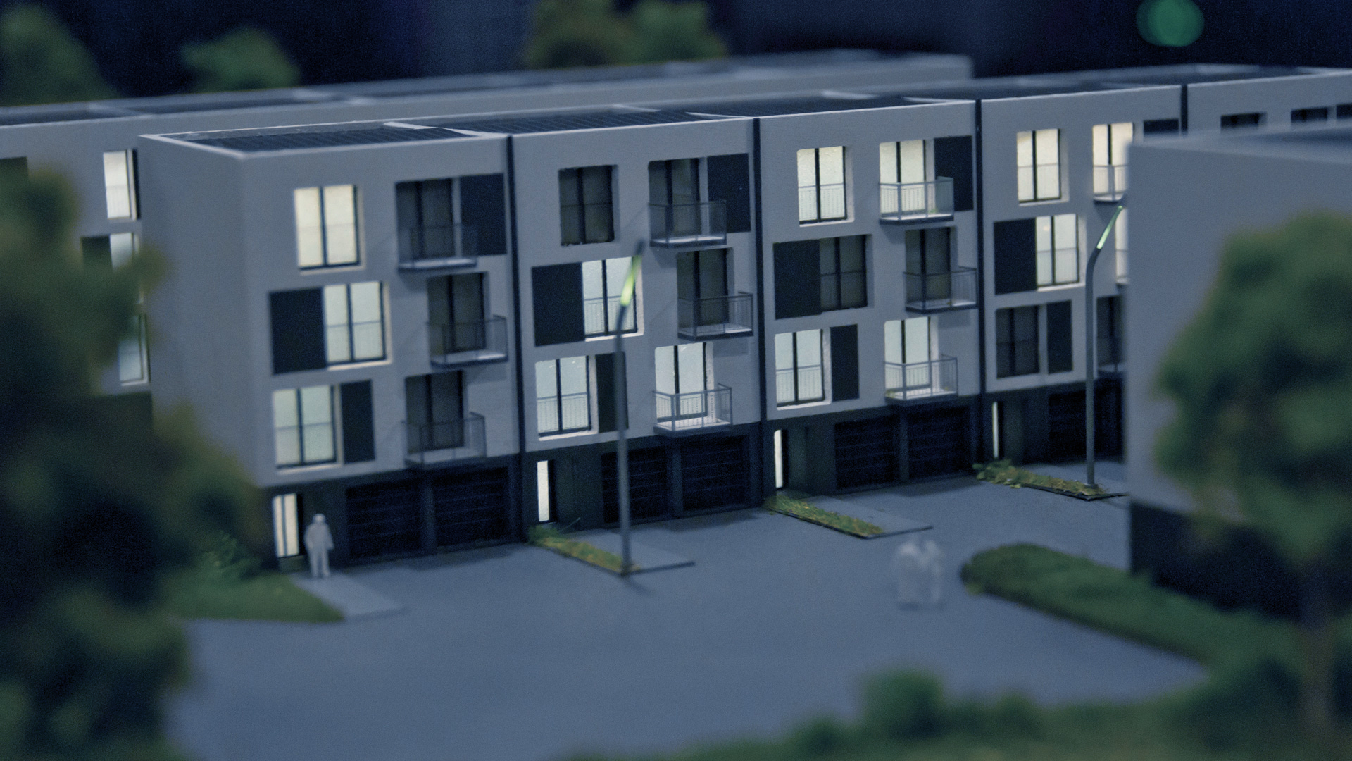 Osiedle Jagielnia - model - widok 7