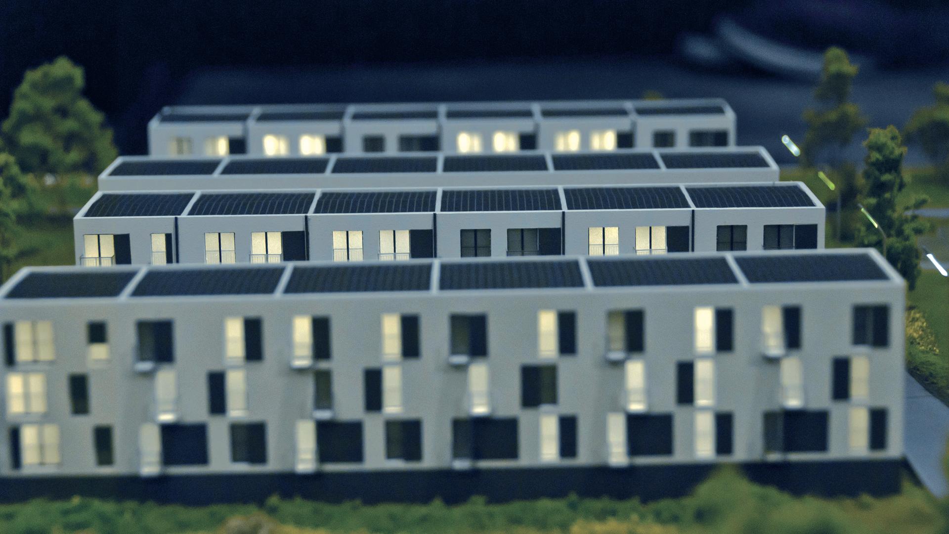 Osiedle Jagielnia - model - widok 8