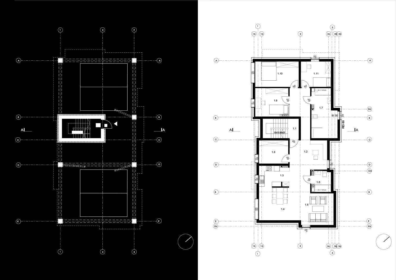 Brick House - rzut 2
