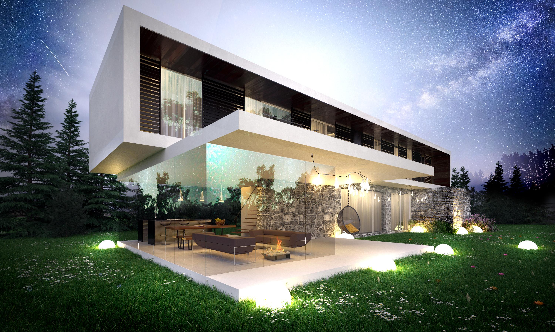 Horizontal House - wizualizacja 1
