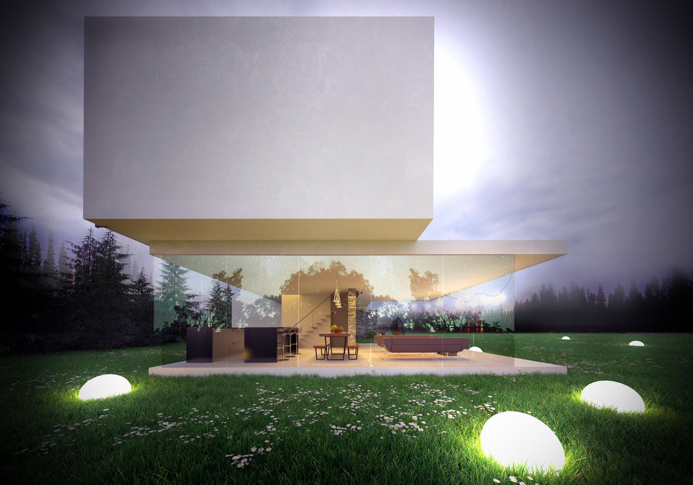 Horizontal House - wizualizacja 2