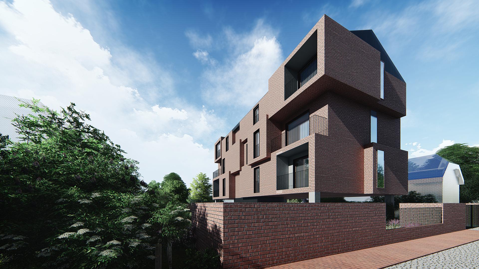 Brick House - wizualizacja 1