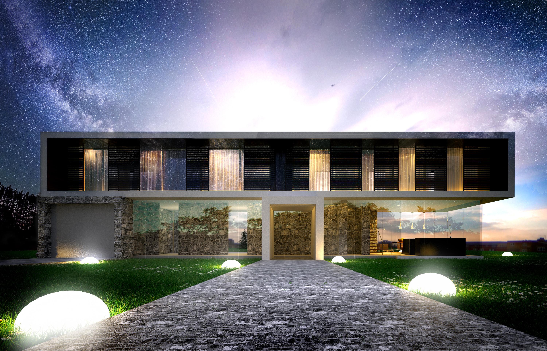 Horizontal House - wizualizacja 3