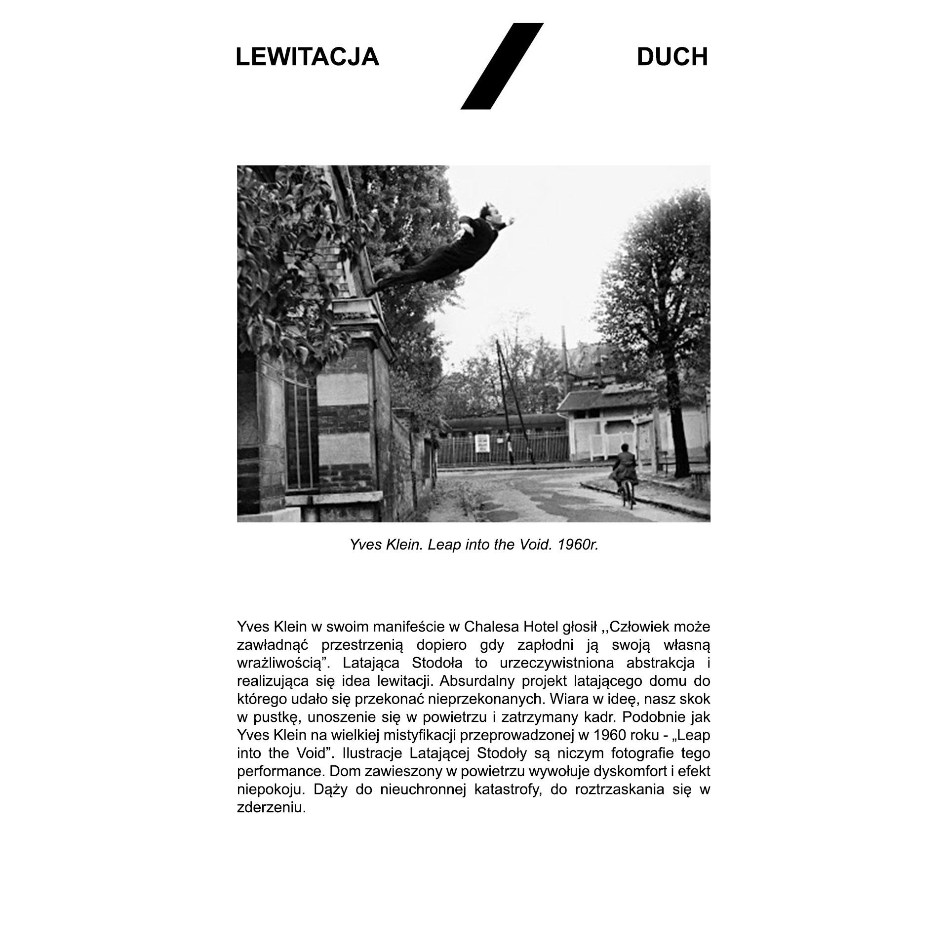 Latająca stodoła - opis lewitacja/duch