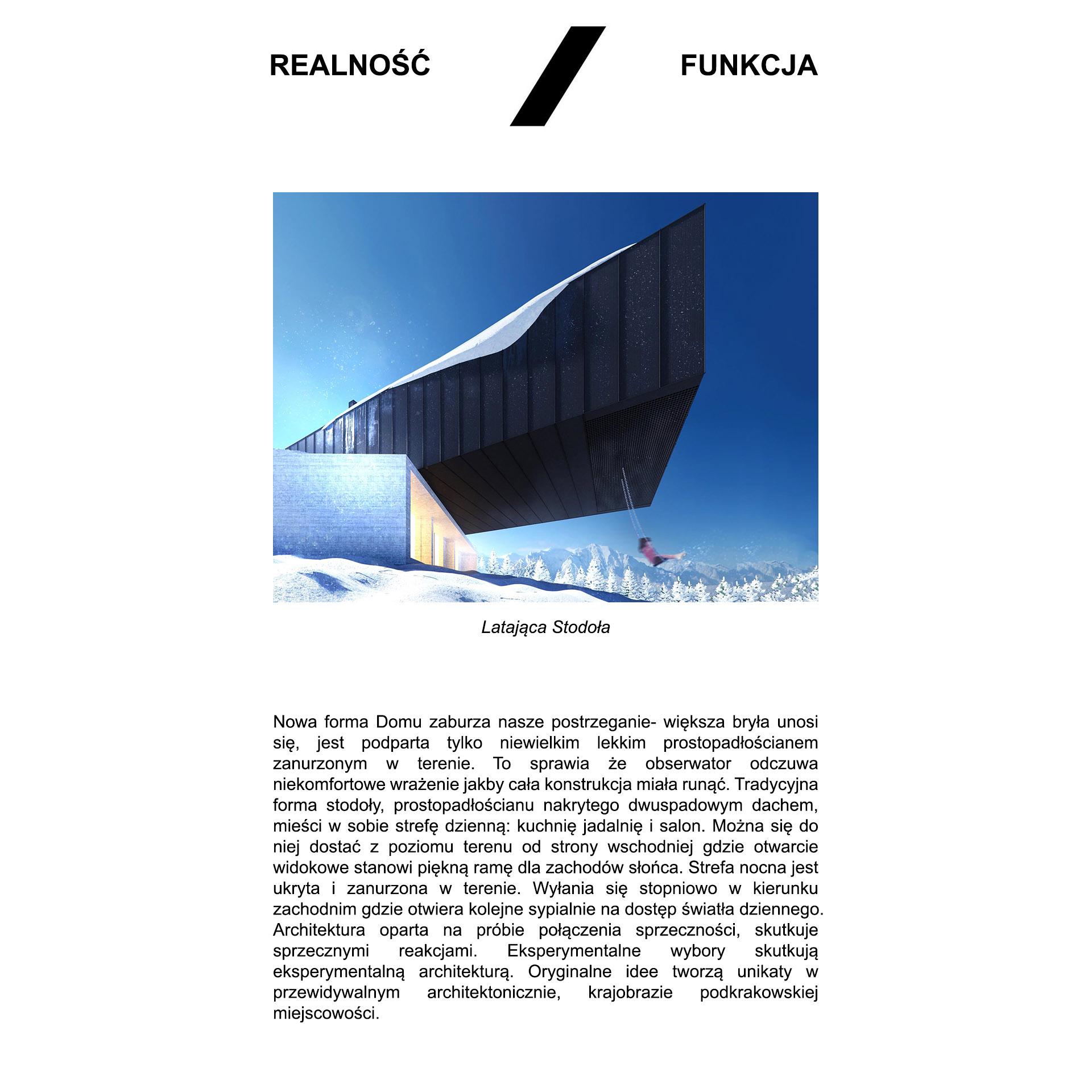 Latająca stodoła - opis realność/funkcja