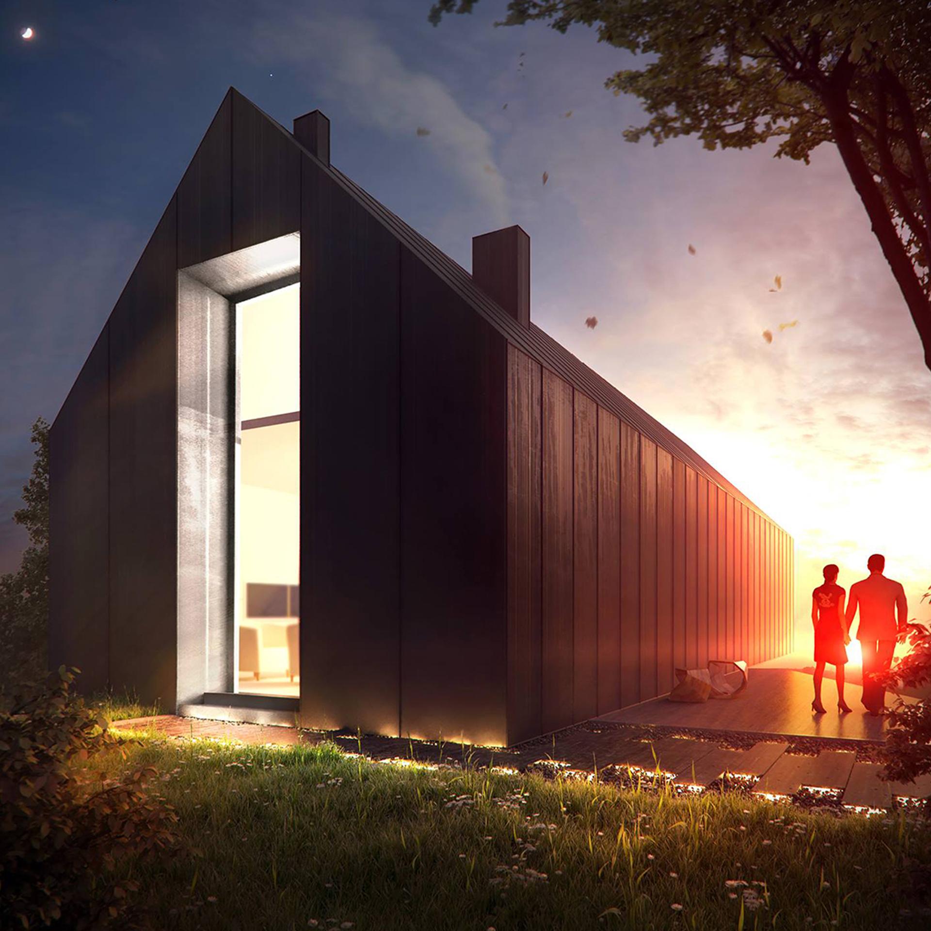 Latająca stodoła - wizualizacja nr 2