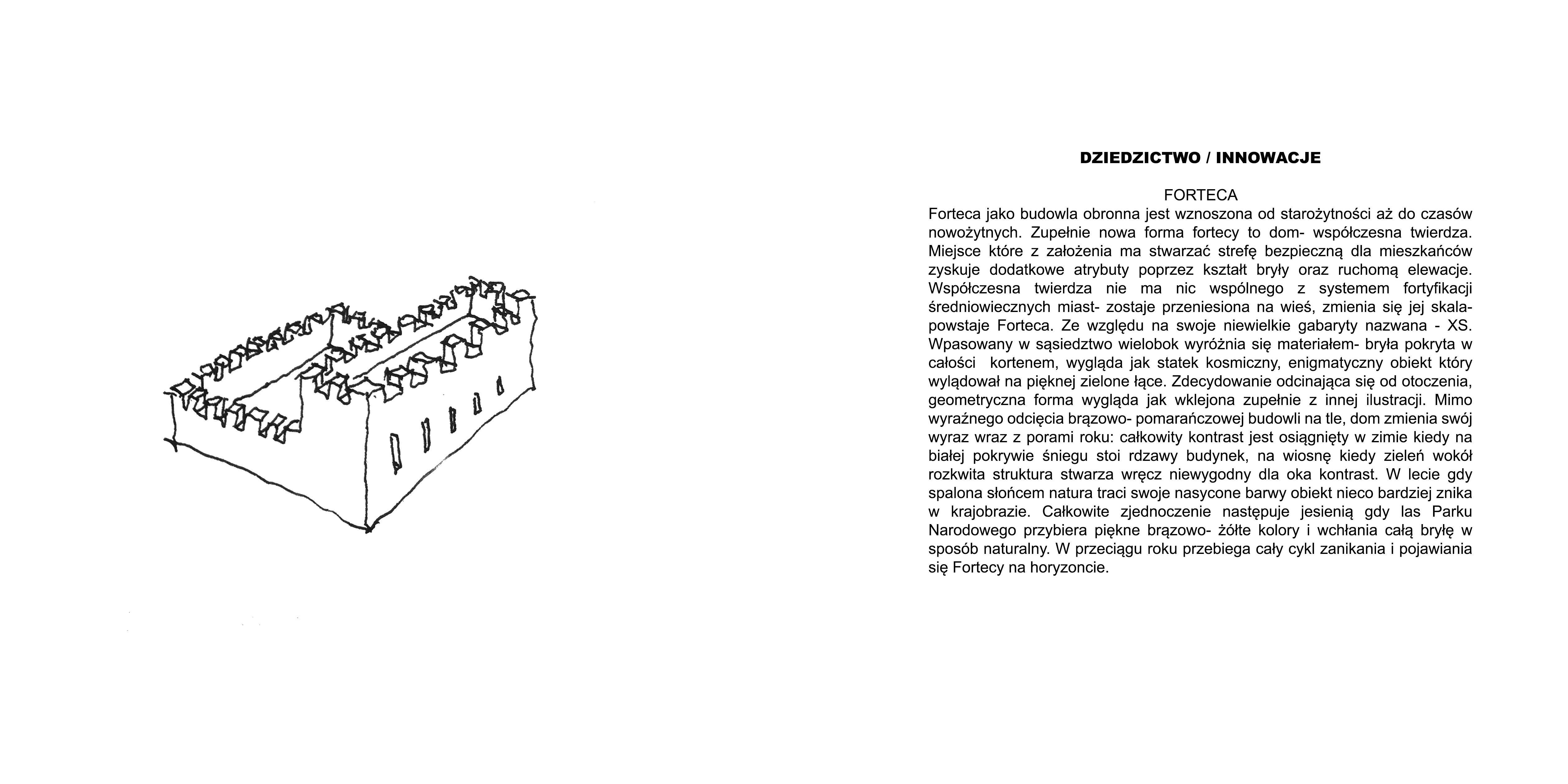 Forteca XS - Dziedzictwo/Innowacje - Forteca